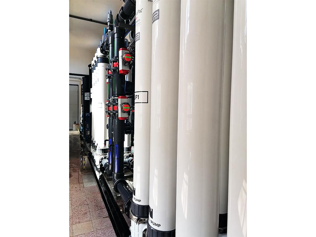 Ultrafiltačná jednotka PRAKTIKPUMP zabezpečuje prístup ku kvalitnej pitnej vode.