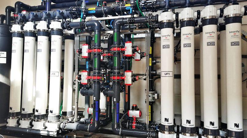 úprava vody ultrafiltráciou PRAKTIKPUMP